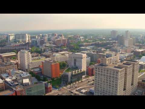 Drone Video of University City: Drexel University and Penn