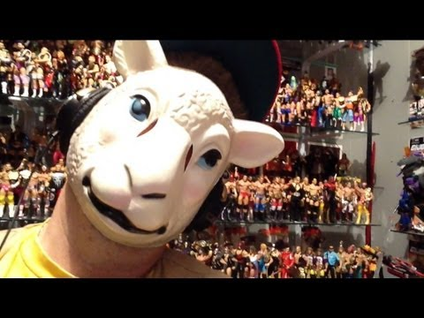 Wyatt Family Sheep Mask Review From Wwe Shop Great For Halloween