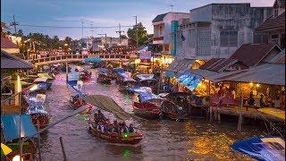 MOST AUTHENTIC THAI FLOATING MARKET- AMPHAWA FLOATING MARKET, THAILAND