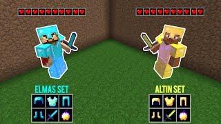 ZENGİN KAVGA EDİYOR! 😱 - Minecraft