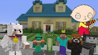 Minecraft Xbox Tag - Family Guy