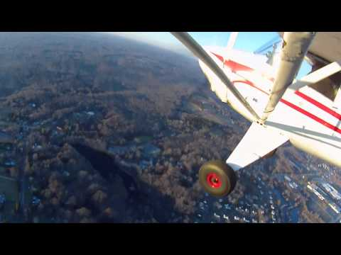 LUSCOMBE/RV7: KWST-KHFD 2 PILOTS FLY SOLO (PART 1)