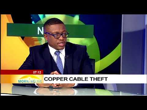 Copper cable theft