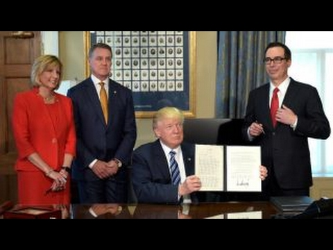 Do Trump's executive orders only help the big banks? - YouTube