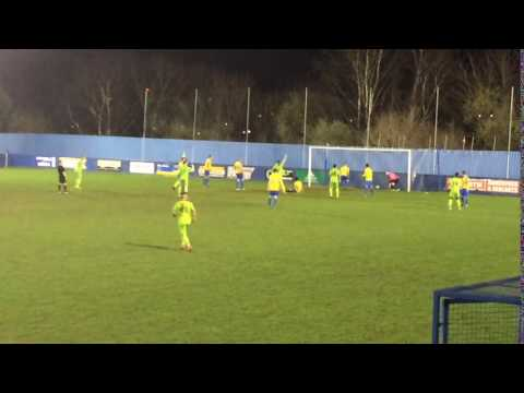 Pickering Town take the lead against Albion Sports