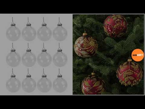 Metal Christmas Ornaments - Christmas Glass Ornaments