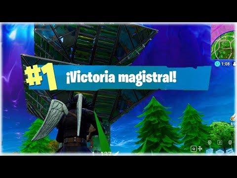 VICTORIA EN EL NUEVO FUERTE PORTATIL en Fortnite: Battle Royale - [WithZack]