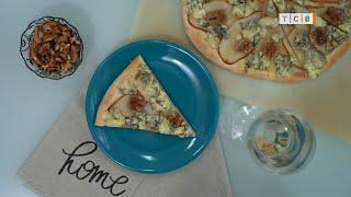 Пицца с грушей и сыром с плесенью Рецепт от КАТИ