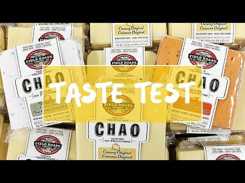 CHAO VEGAN CHEESE | TASTE TEST + SPECIAL GUEST