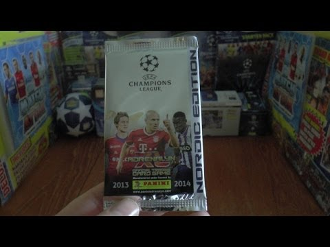 PACK OF THE DAY #45 panini NORDIC EDITION ADRENALYN XL UEFA CHAMPIONS LEAGUE 2013-14 TCG