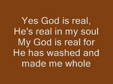God is Real, Charles Johnson - Lyrics