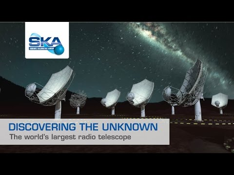 Discovering the unknown: the world's largest radio telescope