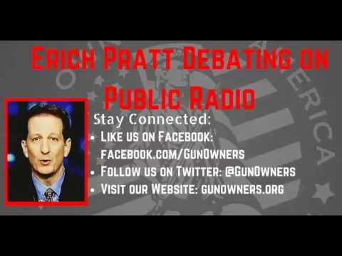Erich Pratt debates on Public Radio