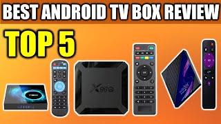 5 Best Android TV BOX On Aliexpress - DQiDIANZ X96/X96Q/H96 Max/X88 RRO/H96 Mini/T95 Smart TV BOX