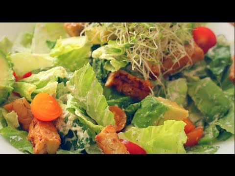 THE BEST HEALTHY CAESAR SALAD RECIPE! (made with brazil nuts & raw)