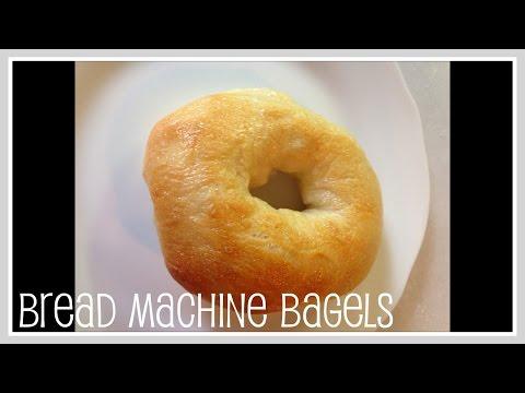 Recipe- Bread Machine Bagels