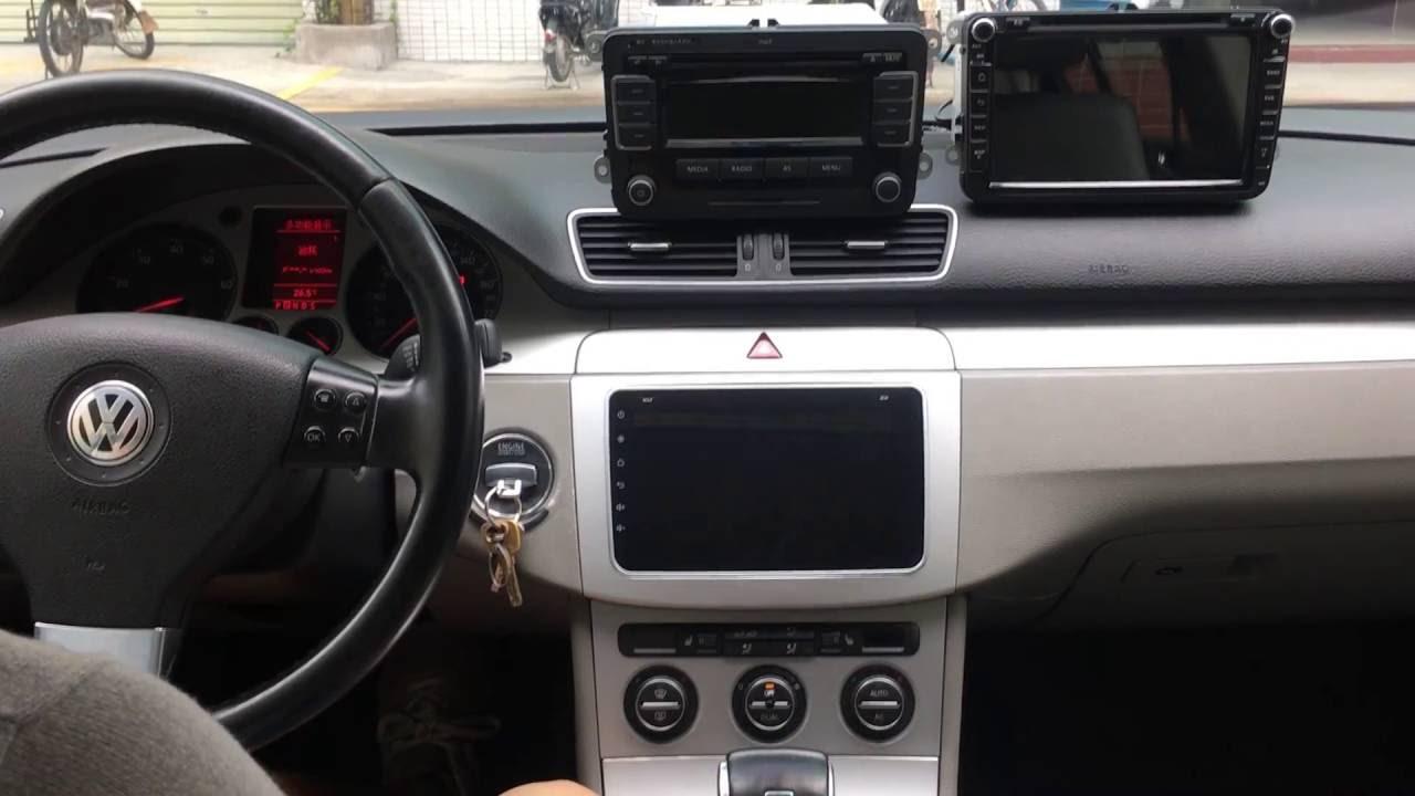 Installation Joying Car Radio Android 5 1 1 Double Din Head Unit In Vw Magento Passat Polo 2008