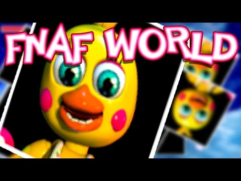 FREDBEAR, FOXY, CHICA'S REAL VOICES!!! [Ep. 20] | FNaF World : UPDATE 2