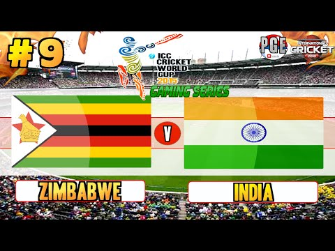 ICC Cricket World Cup 2015 (Gaming Series) - Pool A Match 9 Zimbabwe v India