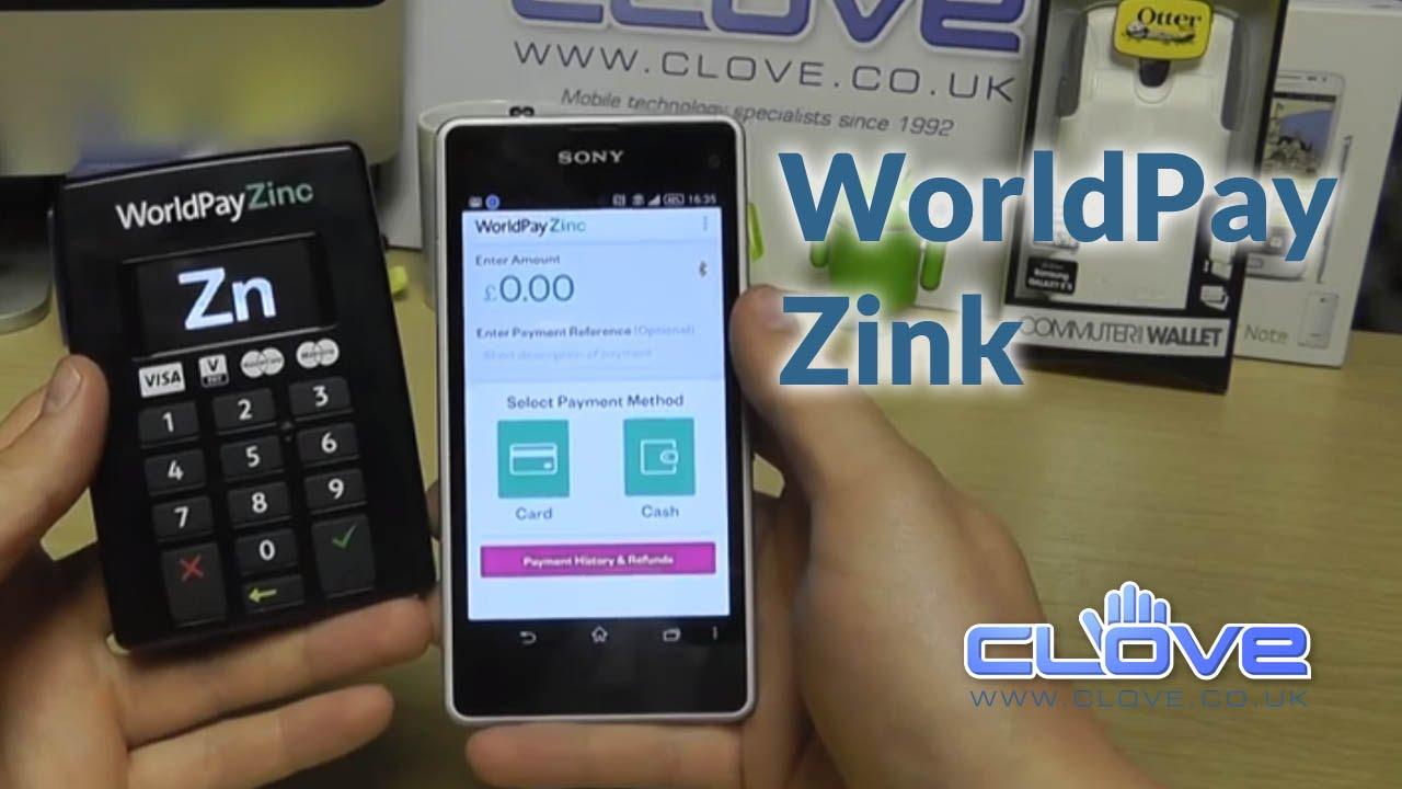 World Pay Zinc >> Worldpay Zinc