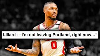 Damian Lillard Isn't Asking For A Trade... Right Now [NBA News]
