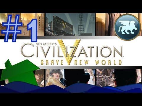 Civilization V: Brave New World - Ep 2.1: Learning Together |