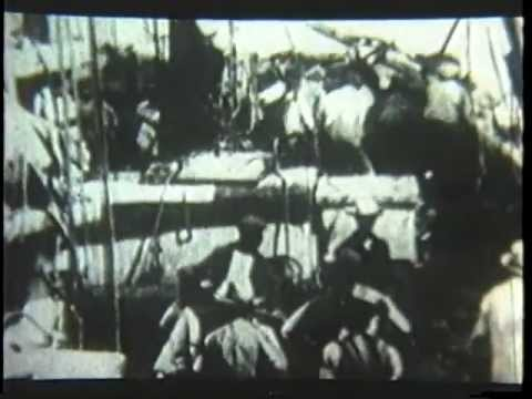 Old Whaling Film aboard The Viola 1916 Part 2of 2