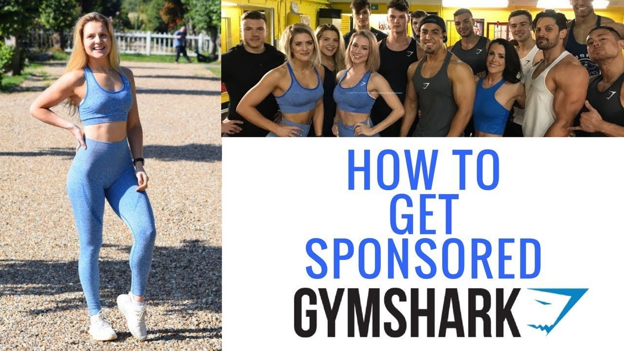 HOW TO GET SPONSORED BY GYMSHARK & BECOME A GYMSHARK ATHLETE