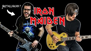 Iron Maiden - Aces High - Cover by Tanguy Kerleroux ft. @Metalliquoi