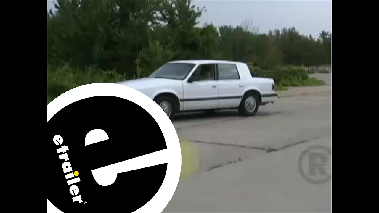 hight resolution of trailer wiring harness installation 1991 dodge dynasty etrailer com
