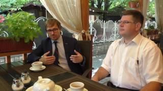 Бизнес ланч с Дмитрием Ляшенко и Владимиром Халаимовым