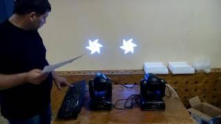 Китайская голова 30W MINI Moving Head Light (02)
