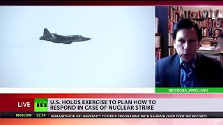 US nukes Russia in exercise attended by Mark Esper