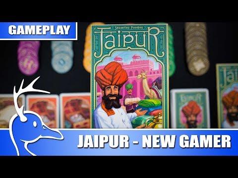 Jaipur - New Gamer Friendly - (Quackalope Gameplay)
