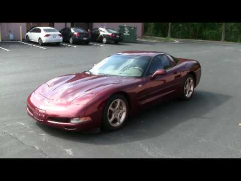 2003 corvette coupe 50th anniversary youtube. Black Bedroom Furniture Sets. Home Design Ideas