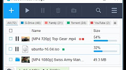 Best Download Manager to download large files on PC.