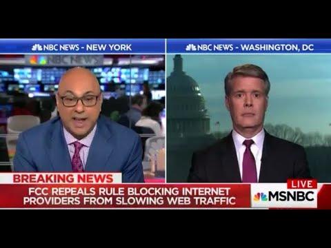 MELTDOWN: MSNBC's Ali Velshi TRIGGERED by Former FCC Commissioner on 'Net Neutrality'