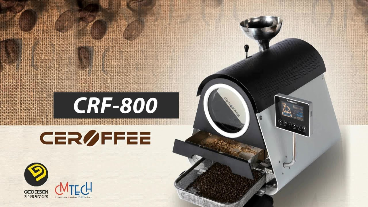 Smart Ceramic Coffee Roaster Ceroffee 세로피 Crf 800 By Cm