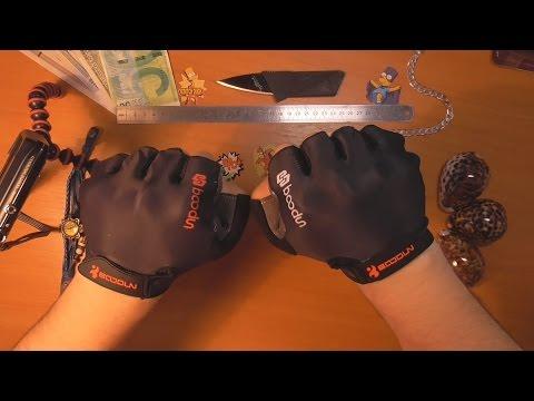 Посылка из Китая #28 Спортивные перчатки без пальцев