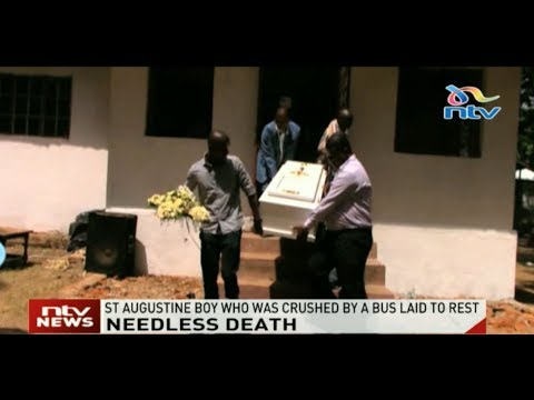 St Augustine boy who was crushed by a bus laid to rest