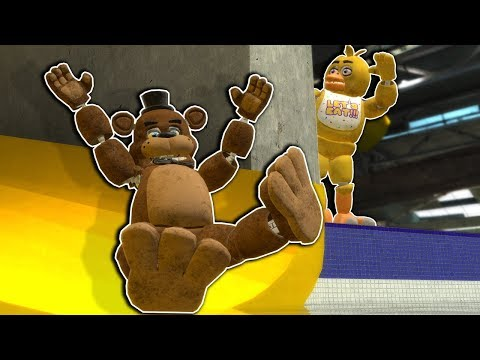 Fnaf Hide and Seek at a Water Park Ends Badly - Garry's Mod Gameplay - Gmod Survival