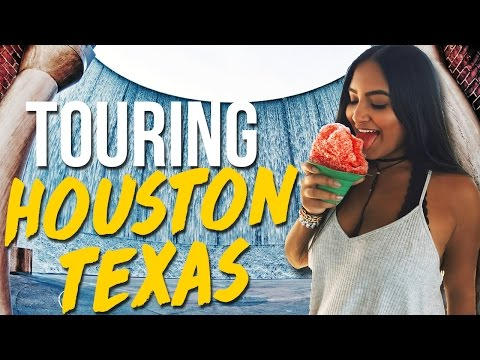 TOURING HOUSTON IN A DAY!