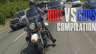 Bike VS Cops Motorcycle Cop Chase Compilation Video 2016 Bikers Running From Police Chases Stuntbike