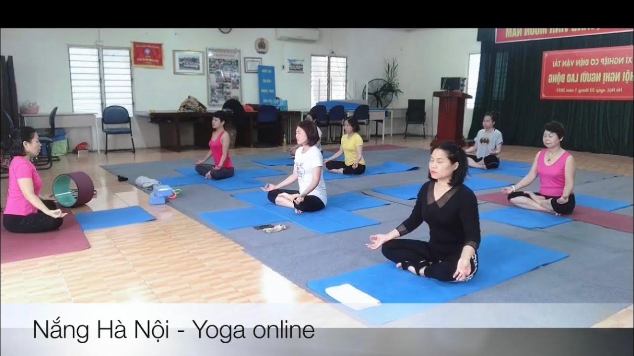 Yoga 🔵 (Bài 35): Tập Yoga Tại Nhà – Yoga online