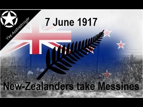 Battle Of Messines 1917 - New Zealanders Capture Messines!