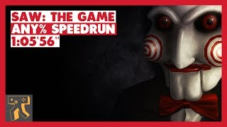 "SAW: The Game - Any% Speedrun - 01:05'56"" [World Record]"