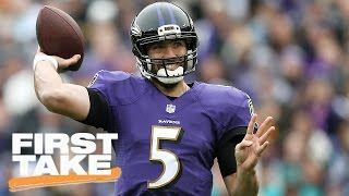 Will Joe Flacco Win Another Super Bowl?   First Take   March 31, 2017