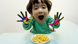 Johny Johny Yes Papa | Rua & Mom Pretend Play Wash Your Hands Nursery Rhymes Song