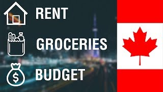 Monthly Living Expenses in Canada