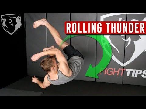 Rolling Thunder: Front Flip Kick (Do Mawashi Kaiten Geri)